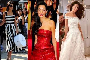 Amal Clooney Style Moments