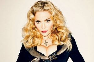 Madonna as Beauty and the beast