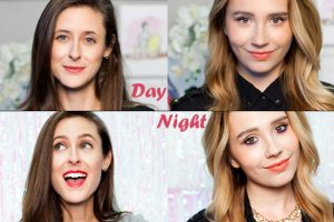 day to night holiday makeup