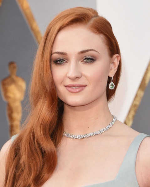 Sophie Turner Hairstyle