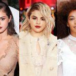 Celebrities Platinum Looks