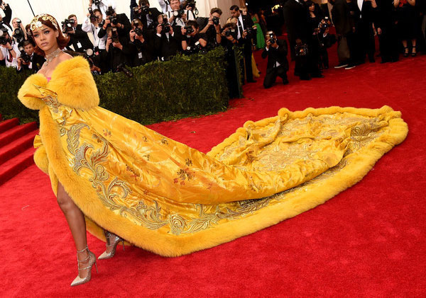 Rihanna as Belle